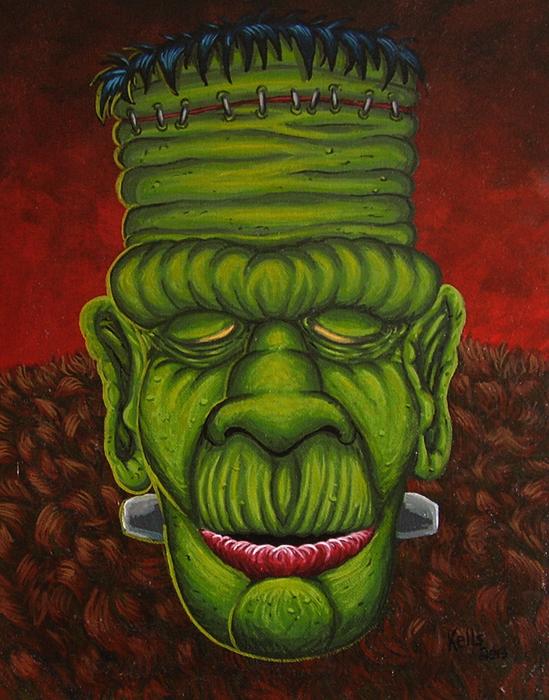 Frankenstein by vonblood