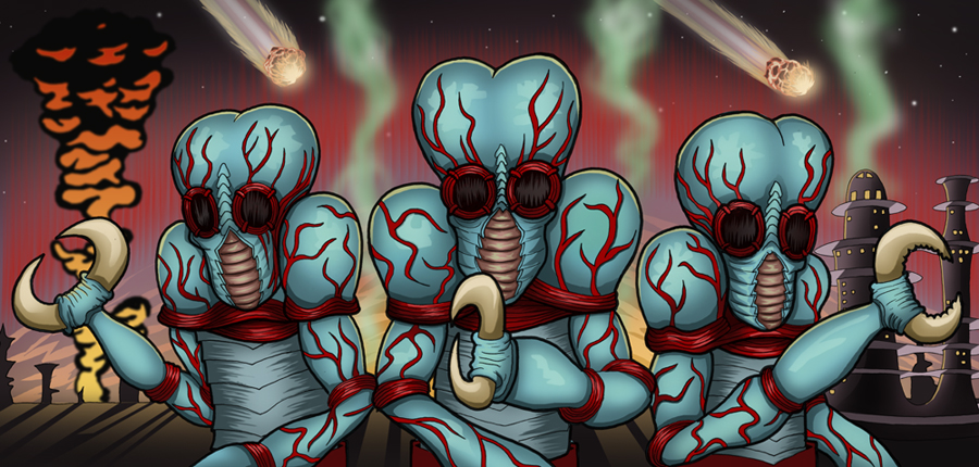 Metaluna Mutants by vonblood