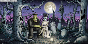 In The Grave Yard