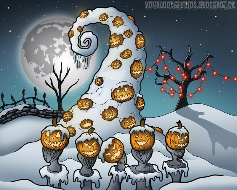 Pumpkin Hill by vonblood