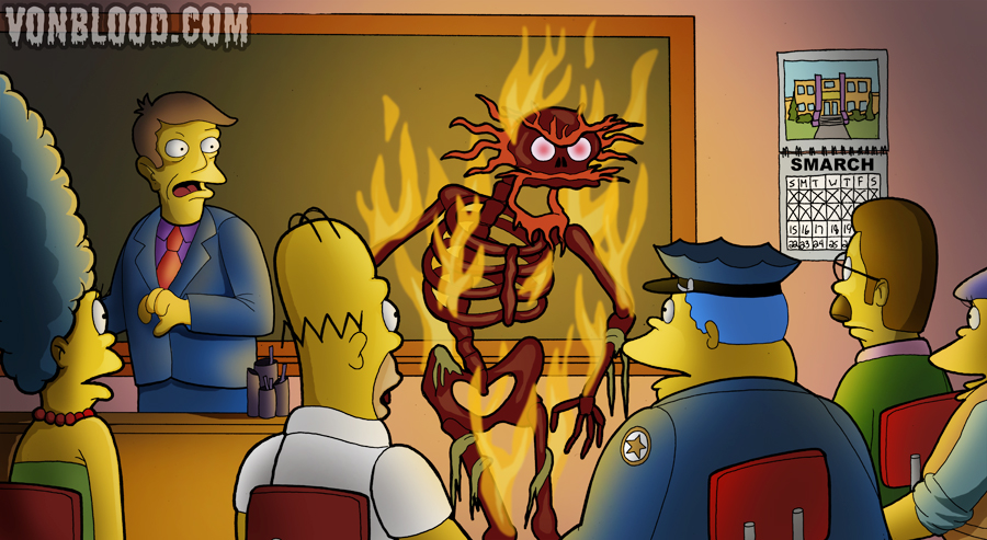 Treehouse of Horror 6 by vonblood