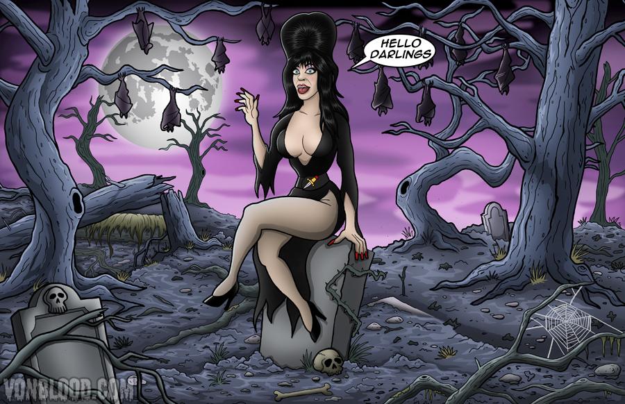 Elvira by vonblood