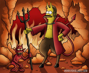 Treehouse Of Horror 8 by vonblood