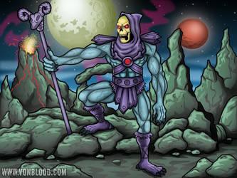 Skeletor by vonblood