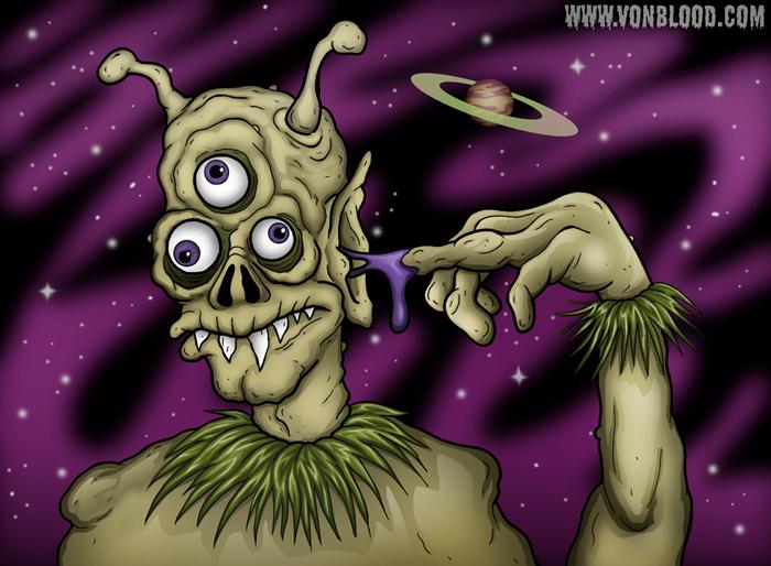 Ear Goop by vonblood