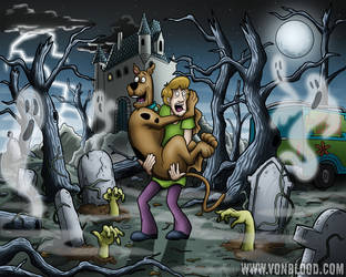 Shag and Scoob by vonblood
