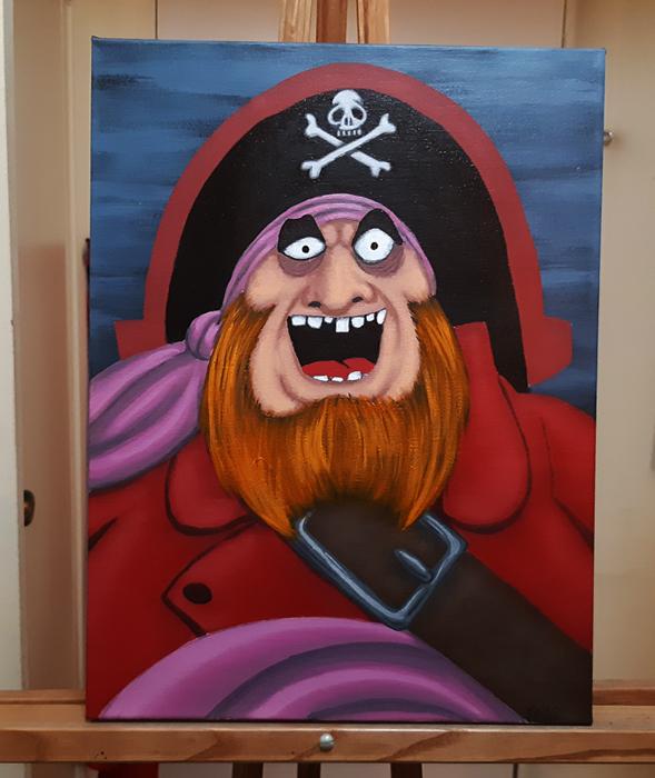 Capn Redbeard by vonblood