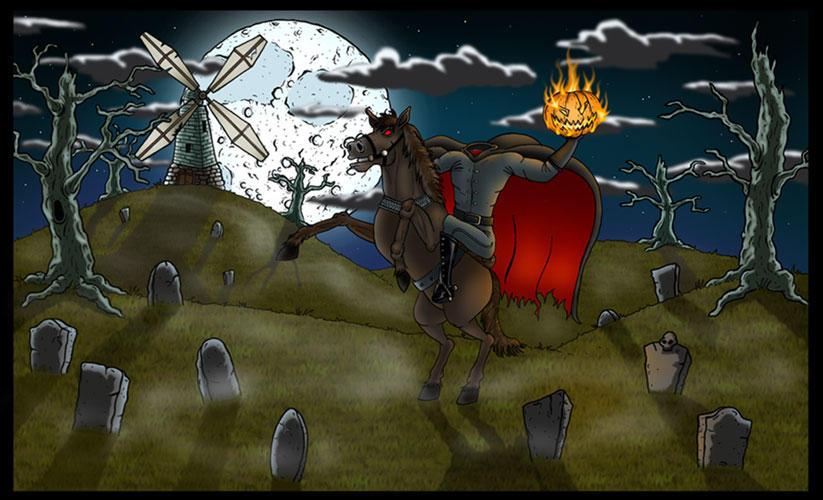 Headless Horseman by vonblood
