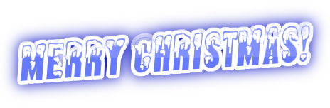 Merry Christmas PNG Text by IheartSNSDForever