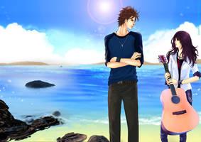 seaside of love by FLEXDONE