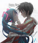 Hatsune Miku Happy New Year 2016