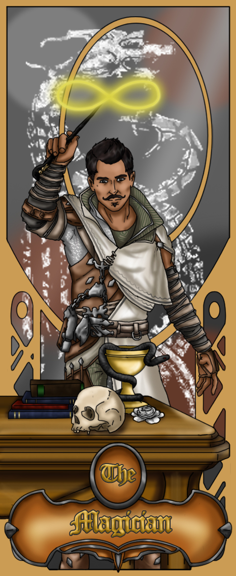 2. The Magician - Dorian Pavus by TovarasNightroad