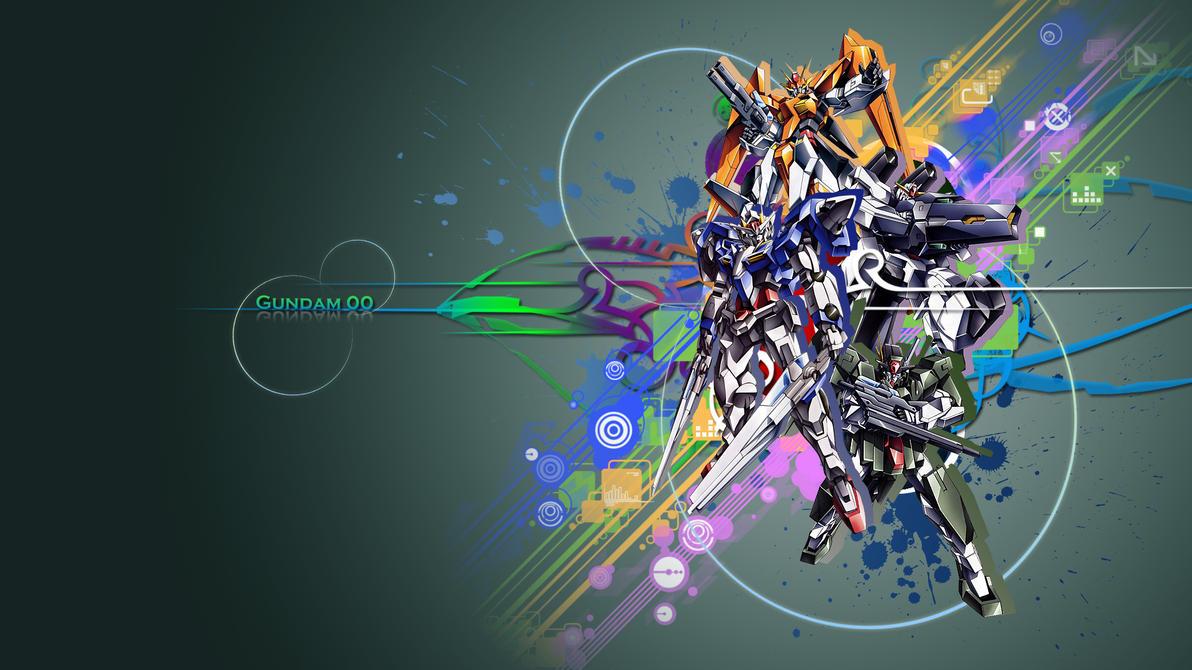 gundam 00 desktop by ragiakurusu