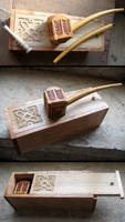 Thorin Oakenshield's pipe with deluxe case by Arcangelo-Ambrosi
