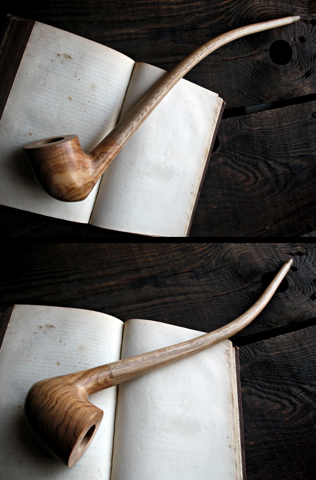 Gandalf's pipe olive wood edition by HouseOfLostPlay