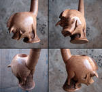 Angry boar pipe 2 - 4 views