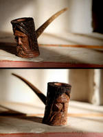 Ancient Tree Spirit Pipe by Arcangelo-Ambrosi