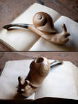 Snail pipe by Arcangelo-Ambrosi