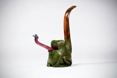 Frog pipe #2