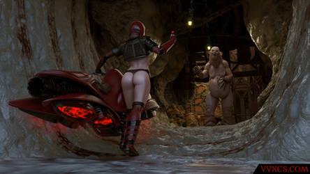 Cymra - Vadim enters Septimus's ship by cymra
