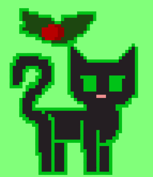 pixel hollyleaf by ambertail3557