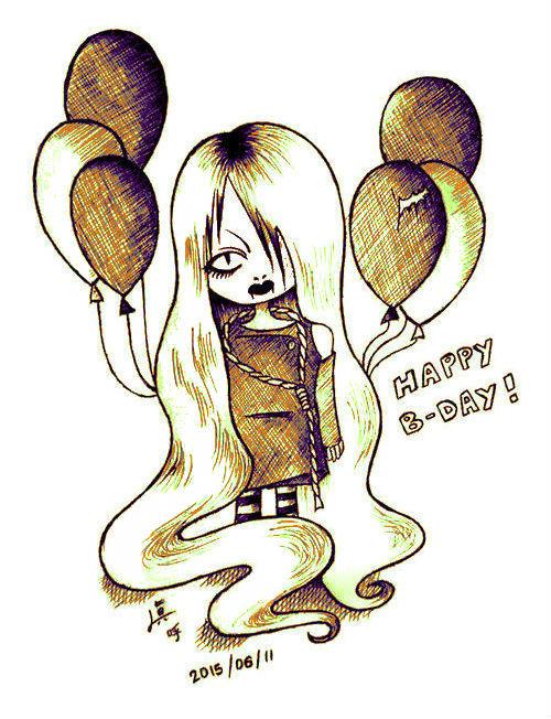 happy b-day by Hotaru-Yagami-Filth