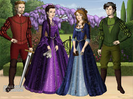 Kings and Queens of Old by Saoirse-Rose