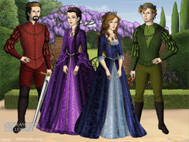 The Four Monarchs by Saoirse-Rose