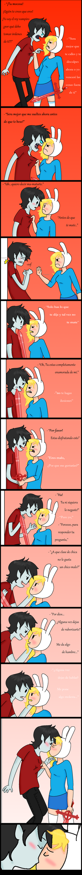 Fighting...or flirting..? -Spanish by CassiXDD