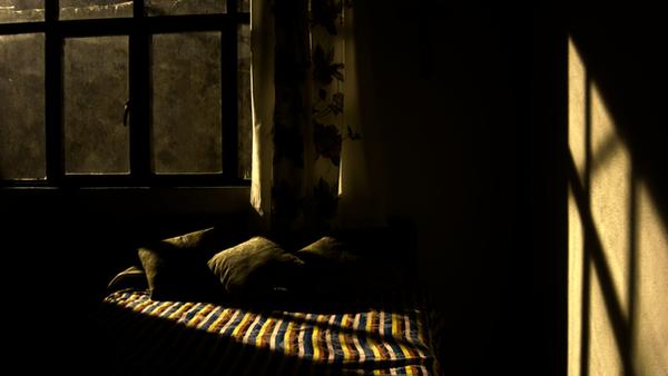 Creepy bedroom by Pablo-Vazquez