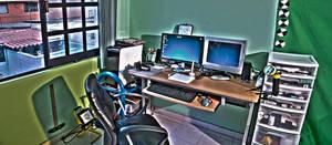 Mi espacio de trabajo en HDR