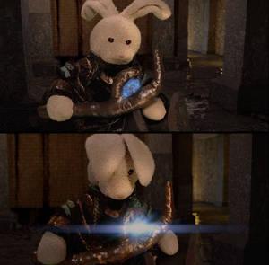 Loki and his sceptre