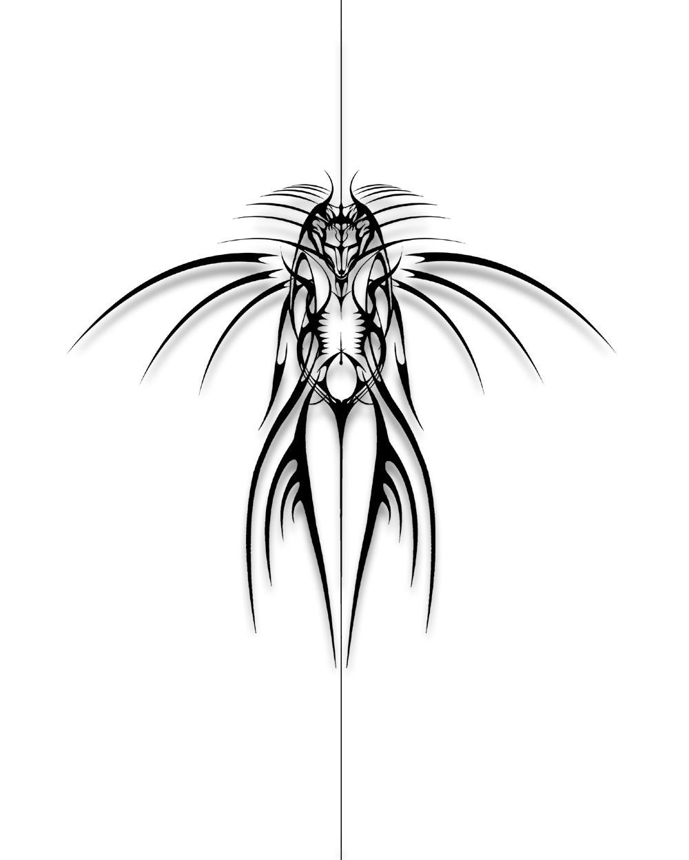 Vampire Tribal Tattoos
