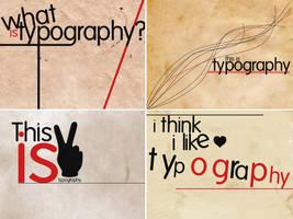 typography series by snapshott