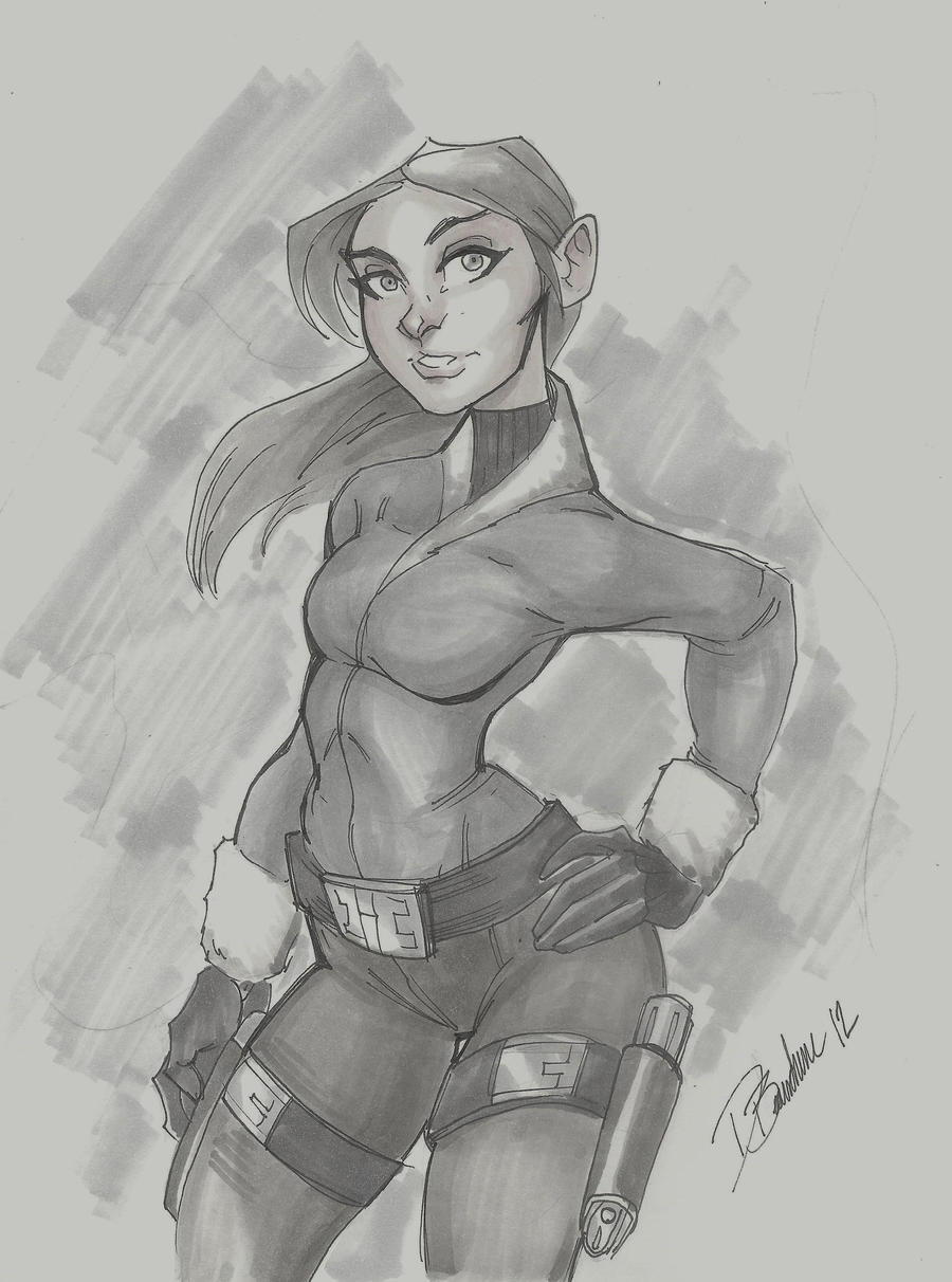 Lara Croft Copics by DaveJorel