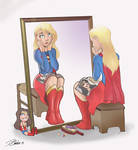 Supergirl at Mirror