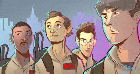 Ghostbusters Sketch