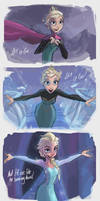 Let it Go - Storyboard Sketches