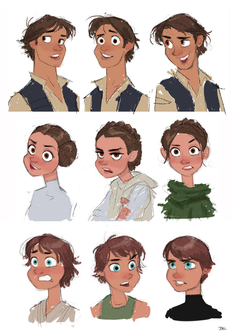 Star Wars Disney Style By Davejorel On Deviantart