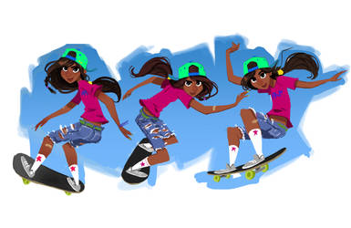 Skater by DaveJorel