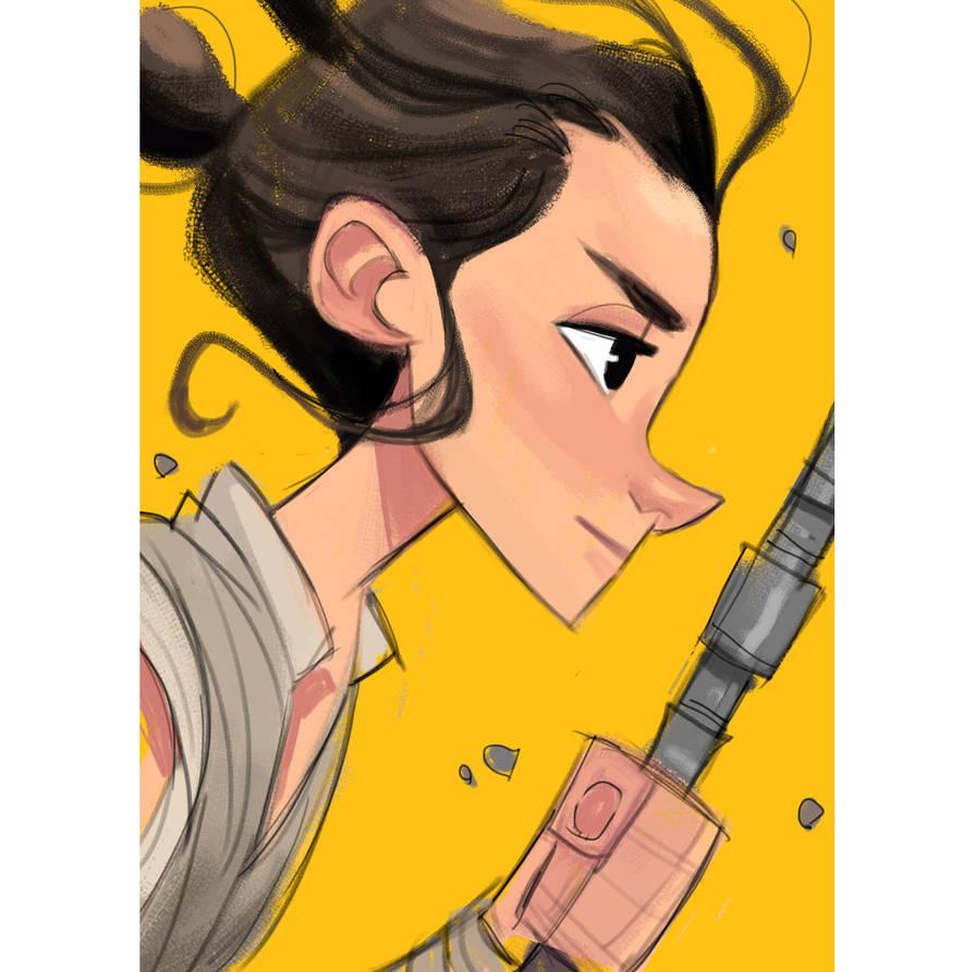 Rey by DaveJorel