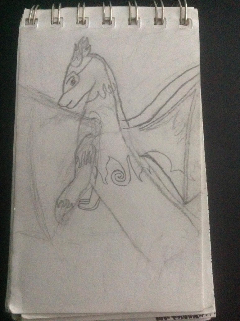 *Old* Eternia OC Dragon Form by Lillysillylol