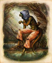 Swamp Sentinel by a-iccara