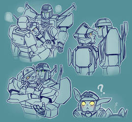 Robots Don't Doink by a-iccara