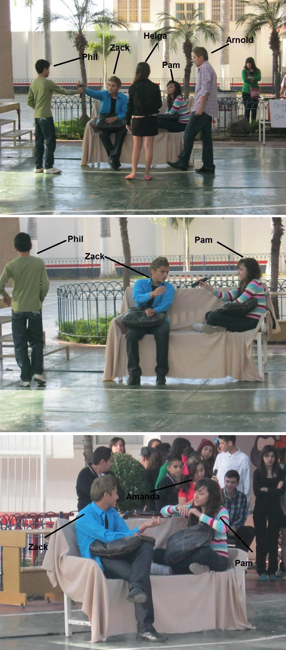 School Play 'Life with the Shortmans' - Hey Arnold by Koizumi-Marichan