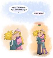 'My Christmas angel' - Hey Arnold! by Koizumi-Marichan