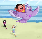 ''AMETHYST~!!!'' - Steven Universe