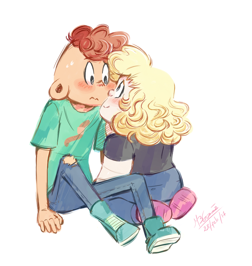 Practicing with my otps (Part 1) Steven Universe (c) Rebecca Sugar