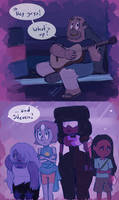 When he finds out - Steven Universe