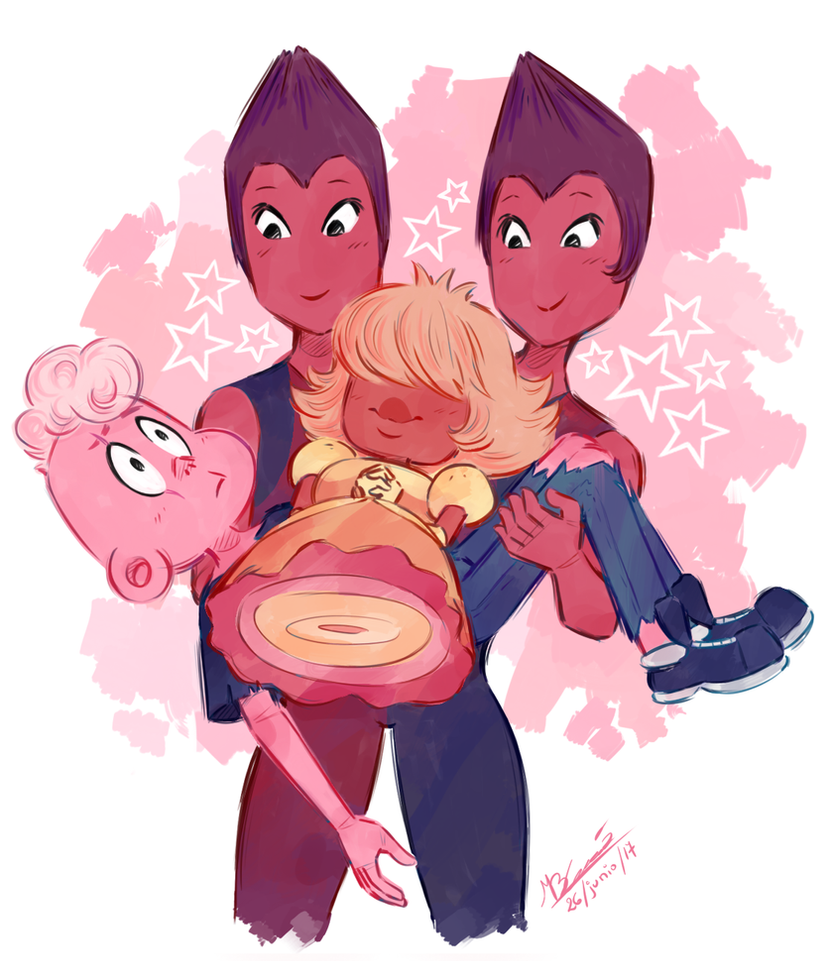 I see em like that kinda this was a excuse for drawing Rulite twins?? I love em so much???? Follow me on   Tumblr ---> koizumi-marichan.tumblr.com/ Steven Universe (c) Rebecca Sugar